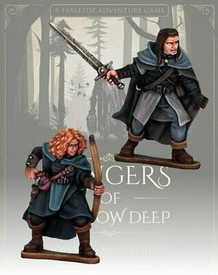 Covin & Orla: Blood Moon Companions - Rangers of Shadow Deep - Northstar Figures