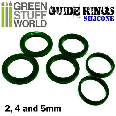 Silicone Guide Rings Rolling Rings - Greenstuff World