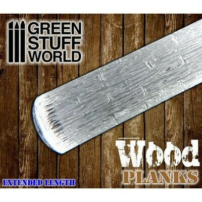STRUKTURWALZE Rolling Pin Wood Planks - Greenstuff World