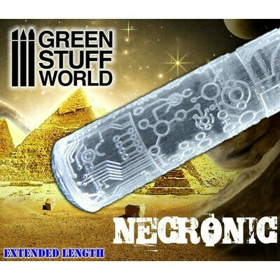 STRUKTURWALZE Rolling Pin NECRONIC - Greenstuff World