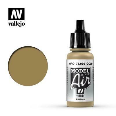 Gold (Metallic) 17ml - Vallejo Model Air