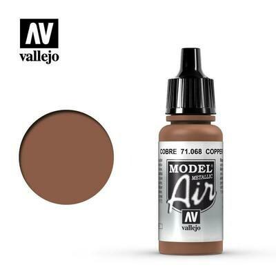 Copper (Metallic) 17ml - Vallejo Model Air
