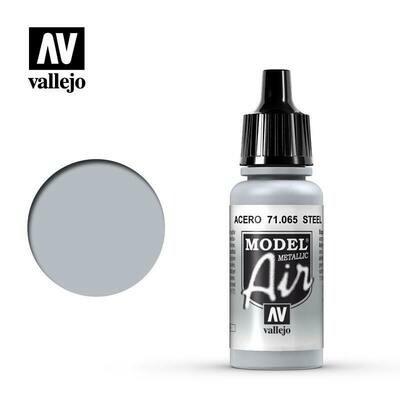 Steel (Metallic) 17ml - Vallejo