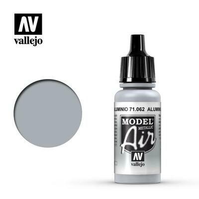 Aluminium (Metallic) 17ml - Vallejo Model Air