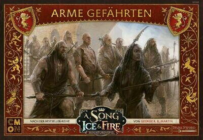 A Song Of Ice And Fire - Lannister Poor Fellows Arme Gefährten - DE