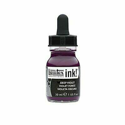 Liquitex Professional Acrylic Ink 30ml Flasche Dunkelviolett (115) - Deep Violet