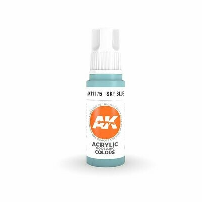 Sky Blue - (3rd-Generation)-(17mL) - AK Interactive