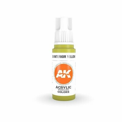 Interior Yellow Green-(3rd-Generation)-(17mL) - AK Interactive