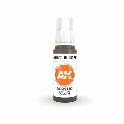 Burnt Red - (3rd-Generation)-(17mL) - AK Interactive