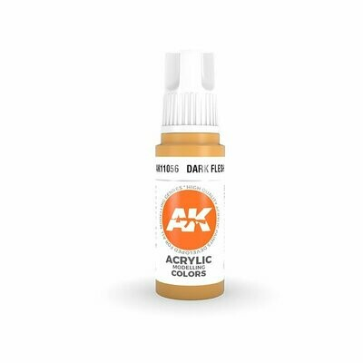 Dark Flesh - (3rd-Generation)-(17mL) - AK Interactive