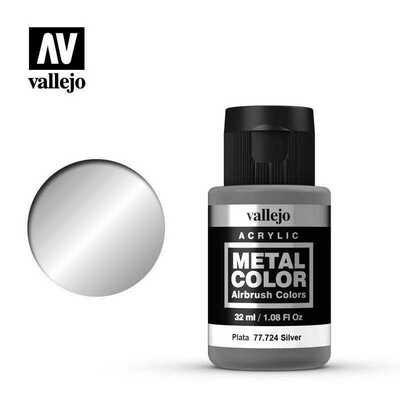 Vallejo Metal Color 77.724 Silver - Vallejo