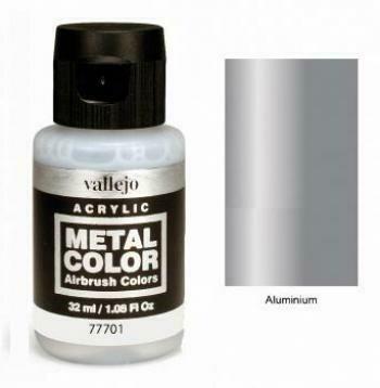 Vallejo Metal Color 77.701 Chrome - Vallejo
