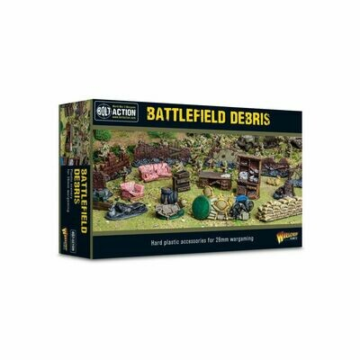 Bolt Action Battlefield Debris - Bolt Action - Warlord Games