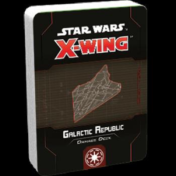 FFG - Star Wars X-Wing: Galactic Republic Damage Deck - EN