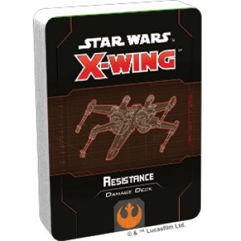 FFG - Star Wars X-Wing: Resistance Damage Deck - EN