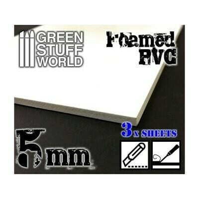 Foamed PVC 5 mm - Greenstuff World