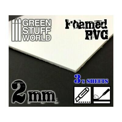 Foamed PVC 2 mm - Greenstuff World