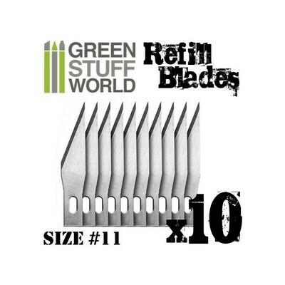 10x Hobby Knife Blade Refill Ersatzklinge Cutter - Greenstuff World