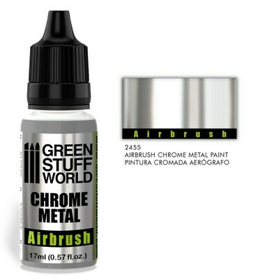 Chrome Paint - Airbrush Chrome Metal - Greenstuff World