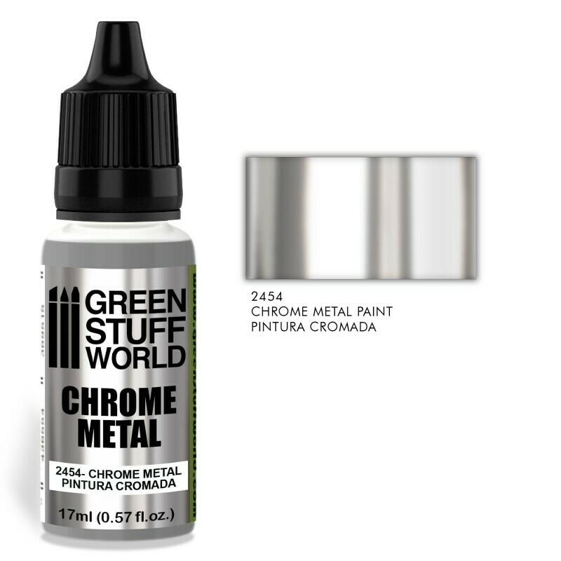 Chrome Paint Chrome Metal - Greenstuff World