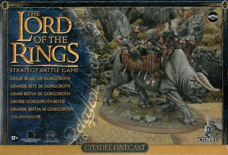 Great Beast of Gorgoroth - Lord of the Rings LotR Herr der Ringe - Games Workshop