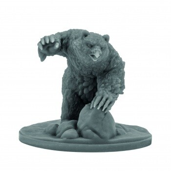 D&D Icewind Dale: Rime of the Frostmaiden - Snowy Owlbear (1 fig)