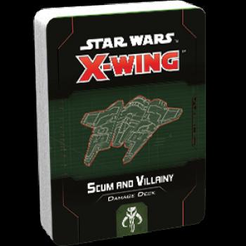 FFG - Star Wars X-Wing: Scum and Villainy Damage Deck - EN