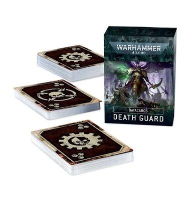 Datakarten: Death Guard (Deutsch) - Warhammer 40.000 - Games Workshop