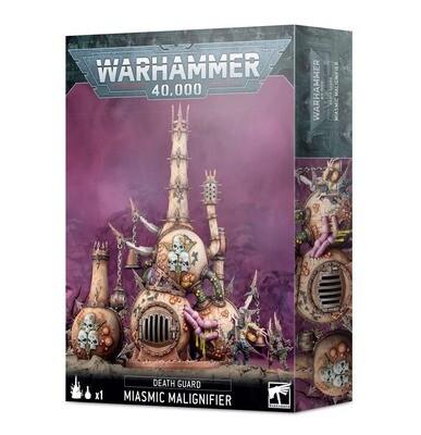 Death Guard: Miasmischer Malignificator Miasmic Malignifier - Warhammer 40.000 - Games Workshop