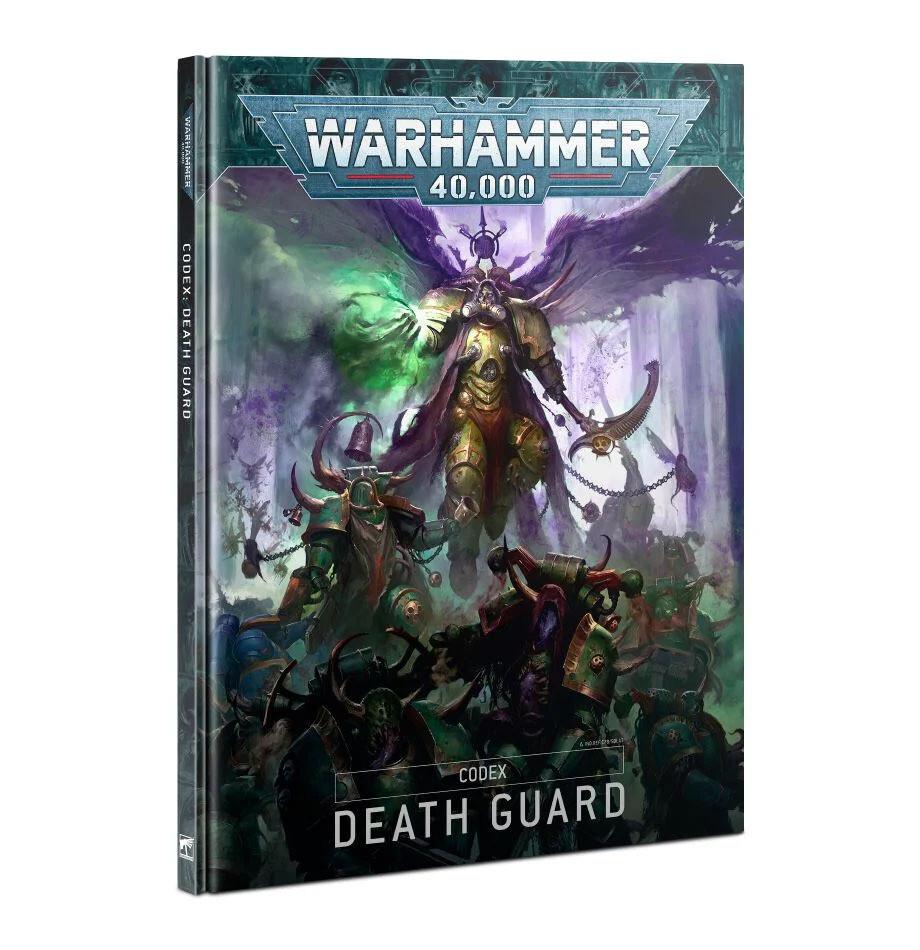CODEX: DEATH GUARD (HB DEUTSCH) - Warhammer 40.000 - Games Workshop