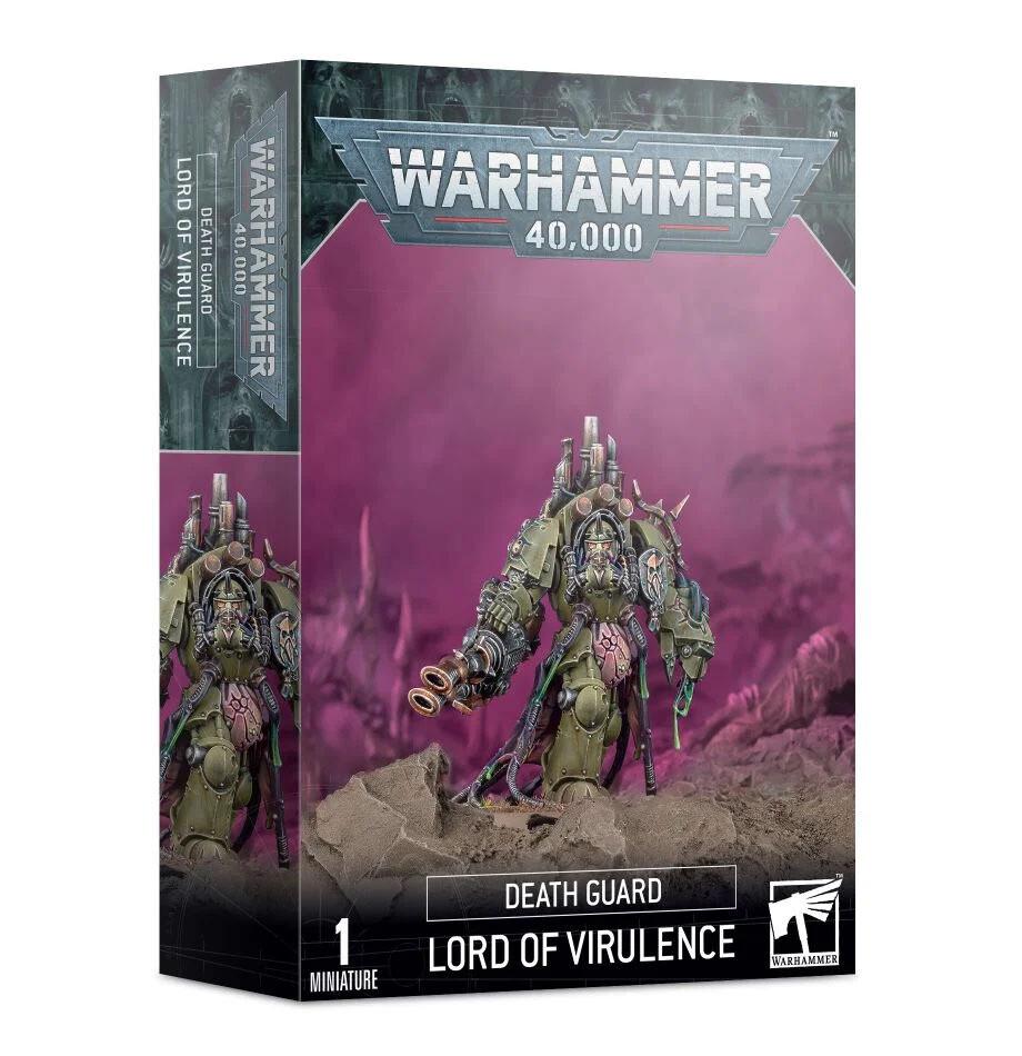 Death Guard: Fürst der Virulenz Lord of Virulence - Warhammer 40.000 - Games Workshop