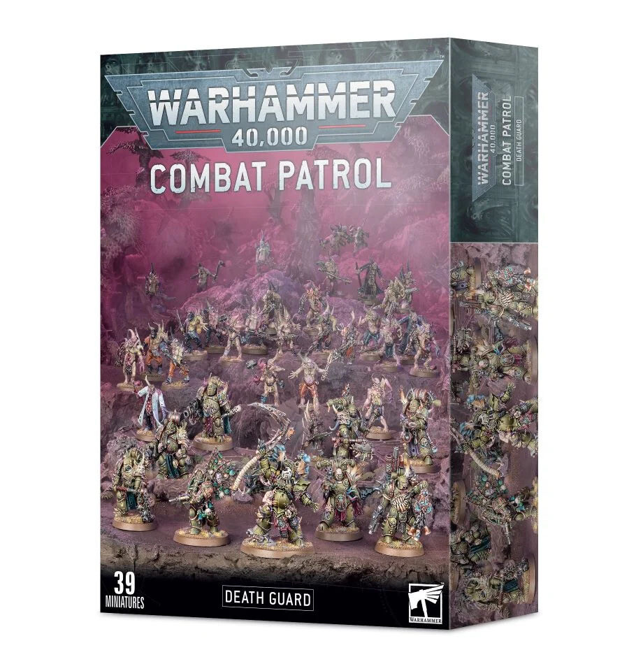 Kampfpatrouille: Death Guard Combat Patrol - Warhammer 40.000 - Games Workshop