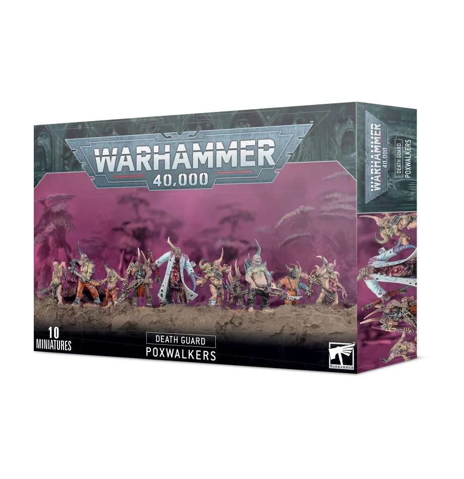 Death Guard: Seuchenwandler Poxwalkers - Warhammer 40.000 - Games Workshop