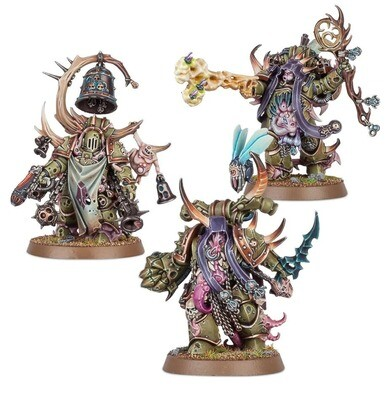 MO: Death Guard: Mortarions Auserkorene Chosen of Mortarion - Warhammer 40.000 - Games Workshop