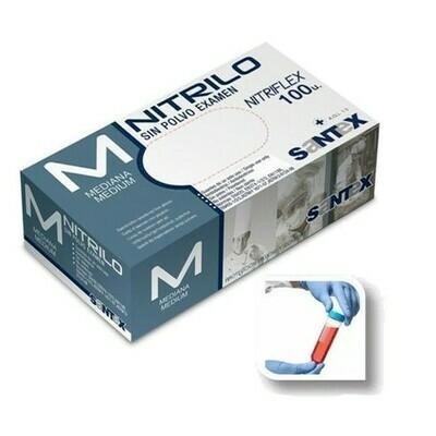 MyClean ni-touch PF Nitril-Einmalhandschuh Puderfrei - Größe M - 100x - Airbrush