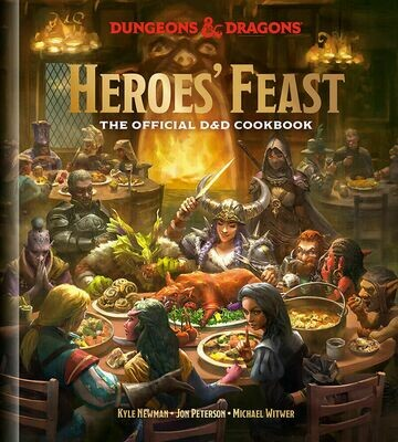 D&D Dungeons&Dragons Cookbook Heroes' Feast - Acquisitions Incorporated