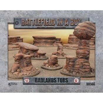 Battlefield in a Box - Badland's Tors - 25-35mm Scale - GF9