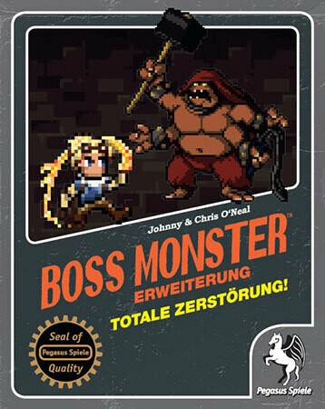 Boss Monster - Totale Zerstörung! Erweiterung - Kartenspiel - Pegasus Spiele