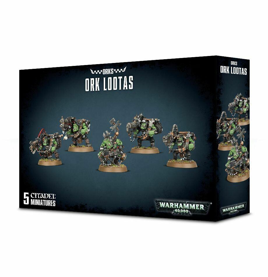 Orks Ork Lootas Ork Burna Boyz - Warhammer 40K - Games Workshop