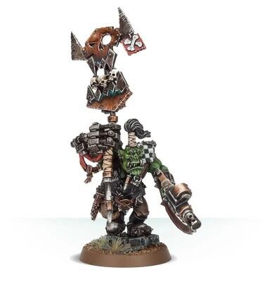 MO: Orks Ork Nob mit Waaaghbanner - Warhammer 40K - Games Workshop