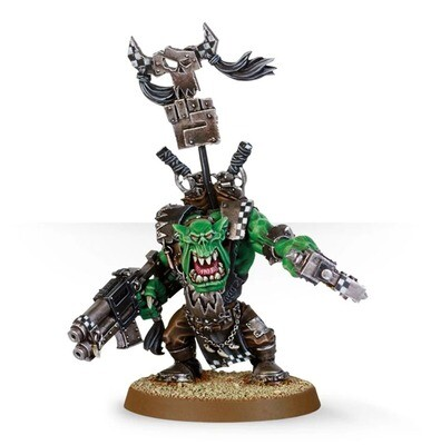 MO: Orks Waaaghboss mit Fettem Spalta - Warhammer 40K - Games Workshop