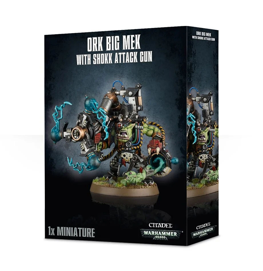 MO: Ork Big Mek mit Snotzogga Shokk Attack Gun - Warhammer 40K - Games Workshop