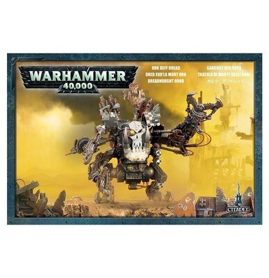 MO: Ork Gargbot der Orks Deff Dread - Warhammer 40K - Games Workshop