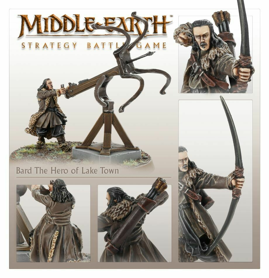 MO: Bard, Held von See-Stadt™ - Lord of the Rings Hobbit- Games Workshop