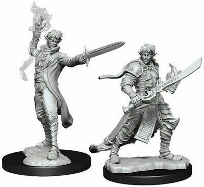 D&D Nolzur's Marvelous Miniatures - Pathfinder Battles Deep Cuts - Male Elf Magus (Magic User)