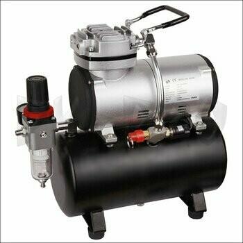 Airbrush Kompressor mit Druckbehälter Fengda AS-186 (FD-186) - Airbrush