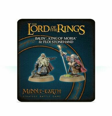 MO: THE LORD OF THE RINGS: Balin™, King of Moria™, and Flói Stonehand - Lord of the Rings - Games Workshop
