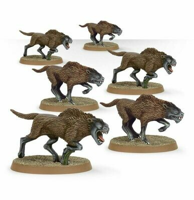 MO: THE LORD OF THE RINGS: Wild Wargs™ - Lord of the Rings - Games Workshop