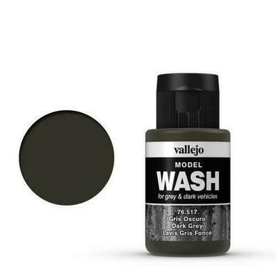 Model Color Wash Dark Grey 17ml - Vallejo - Farben