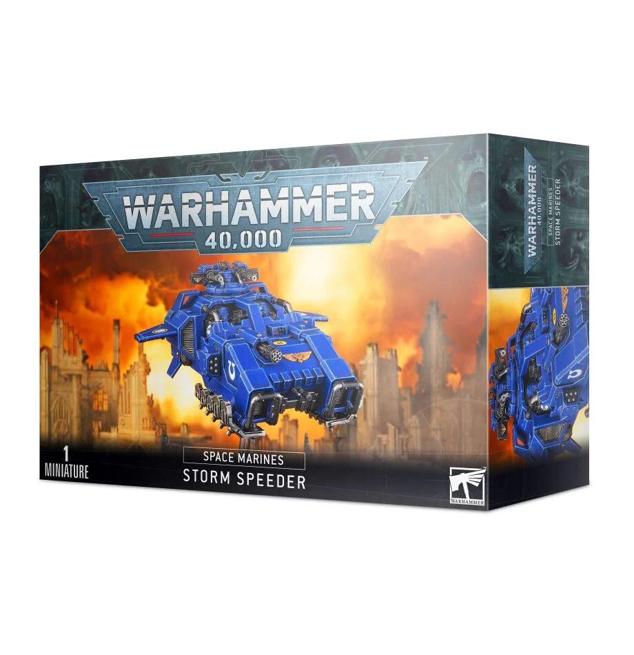 Storm Speeder Hailstrike Hammerstrike Thunderstrike - Space Marines - Warhammer 40.000 - Games Workshop